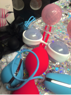 A variety of kegel balls that are available at Libido Adult Store