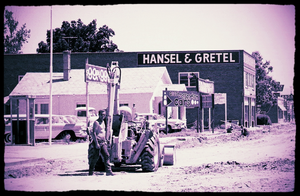 The Building in Its Early Years, Occupied by Hansel & Gretel Clothing Store