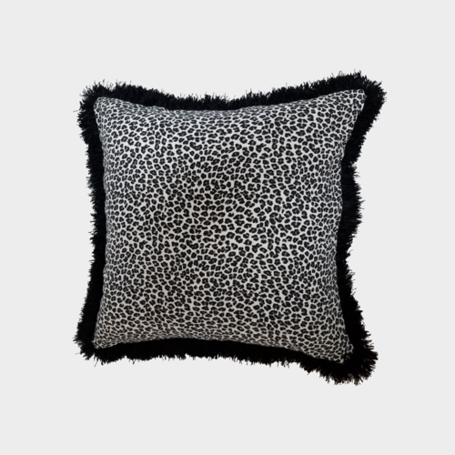 cheetah cover velvet pillows throw leopard animal brown pillow print