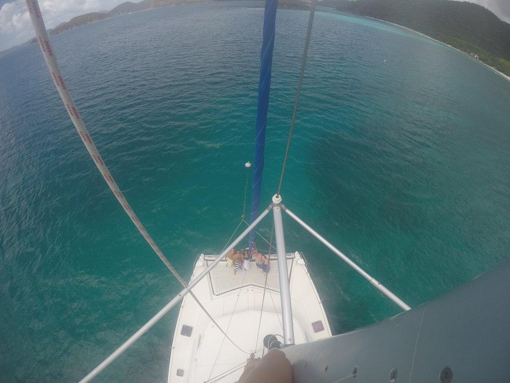Life is short. Climb the mast.