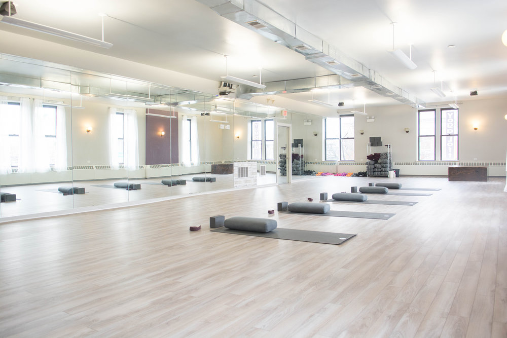 INSIDE OAK PARK STUDIO-NEW HOT YOGA AUG 23, 2018