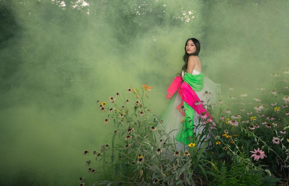 Model: Melanie Xiong MUA: Savanah Tsang Photographer: Katherina Vang Assistant: Sayha Theng