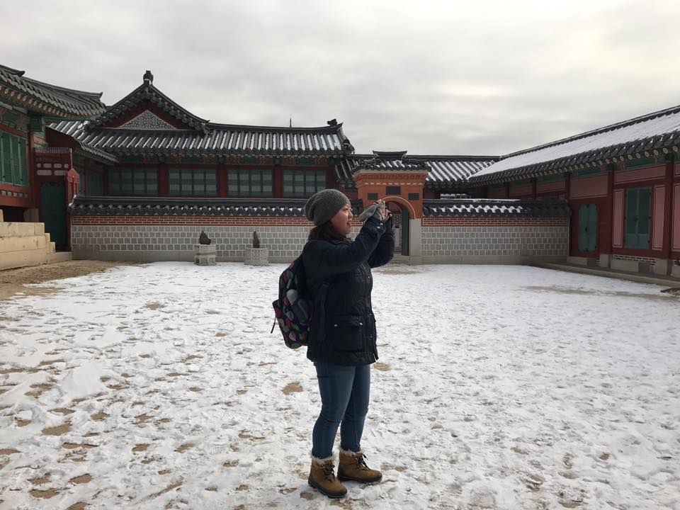 Exploring Gyeongbokgung Palace Photo by Manivanh
