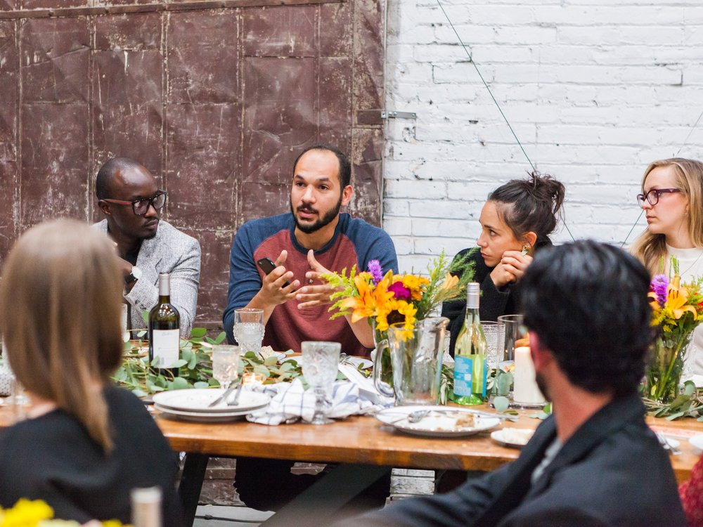 Rise of the Bulls Refugee Dinner Gathering