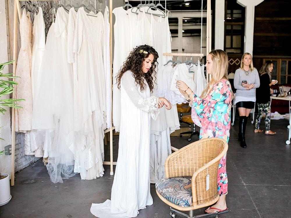 Bridal Dress Pop Up Shop