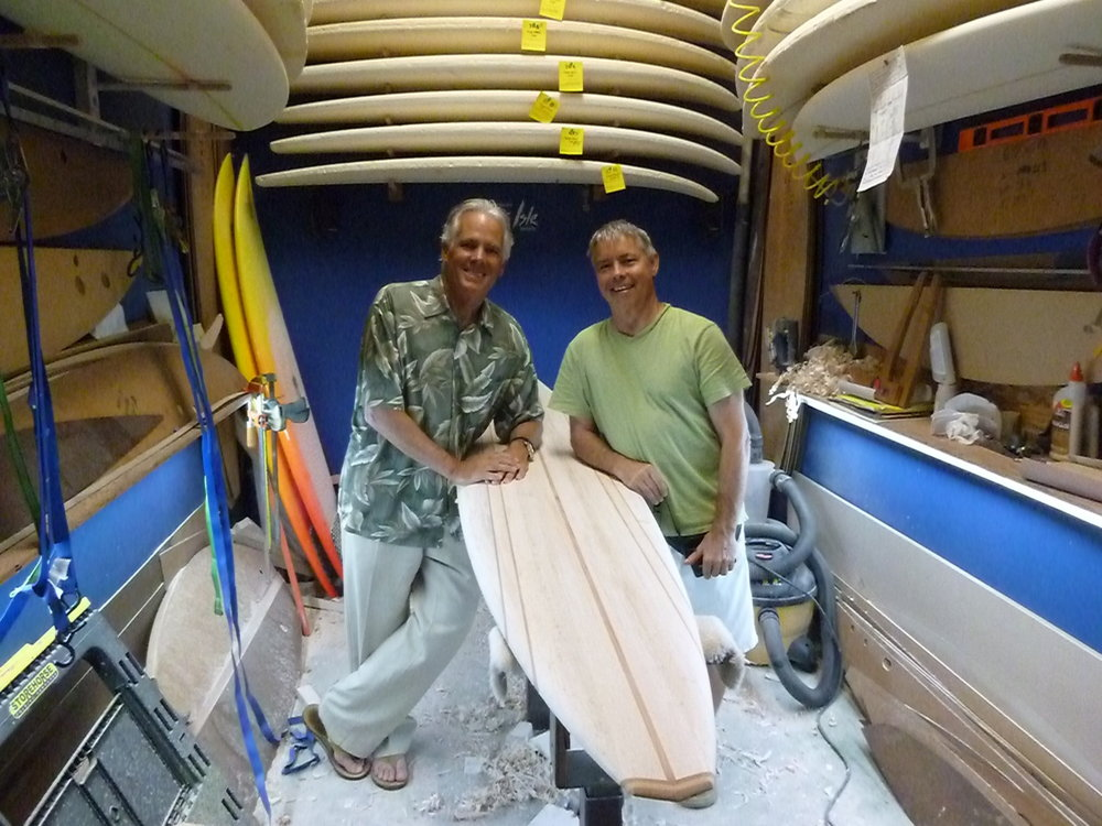 Marc and Bill Barnfield. Photo courtesy of Marc Andreini