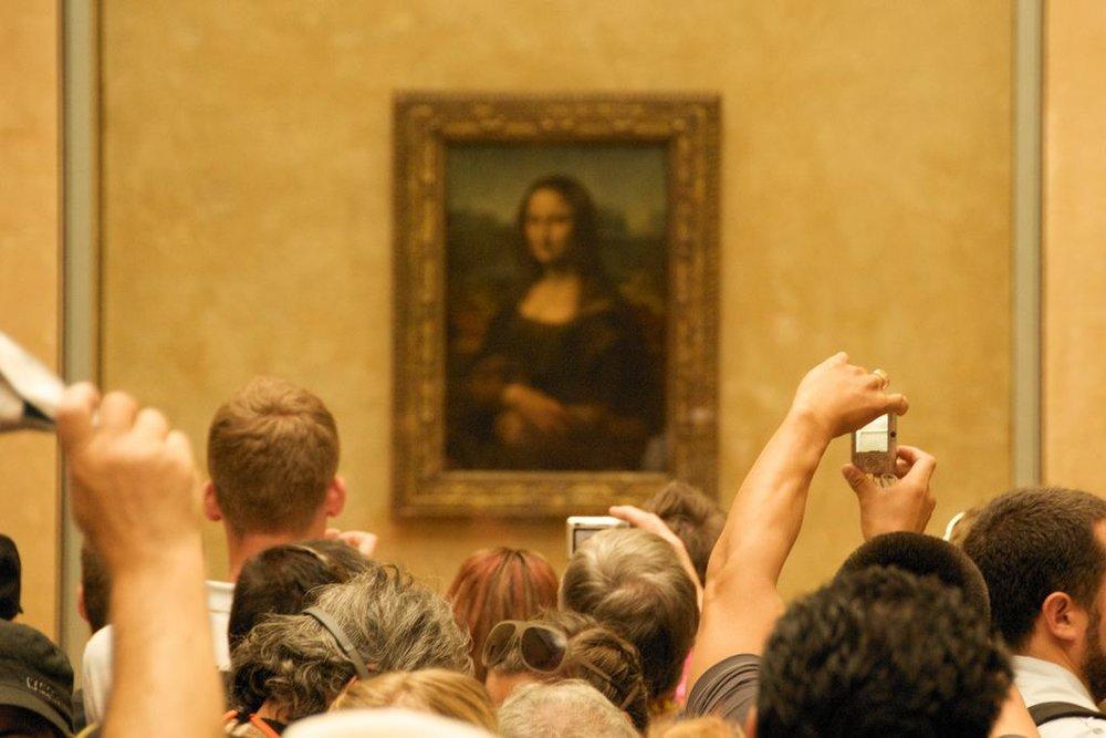 The Mona Lisa by Leonardi da Vinci