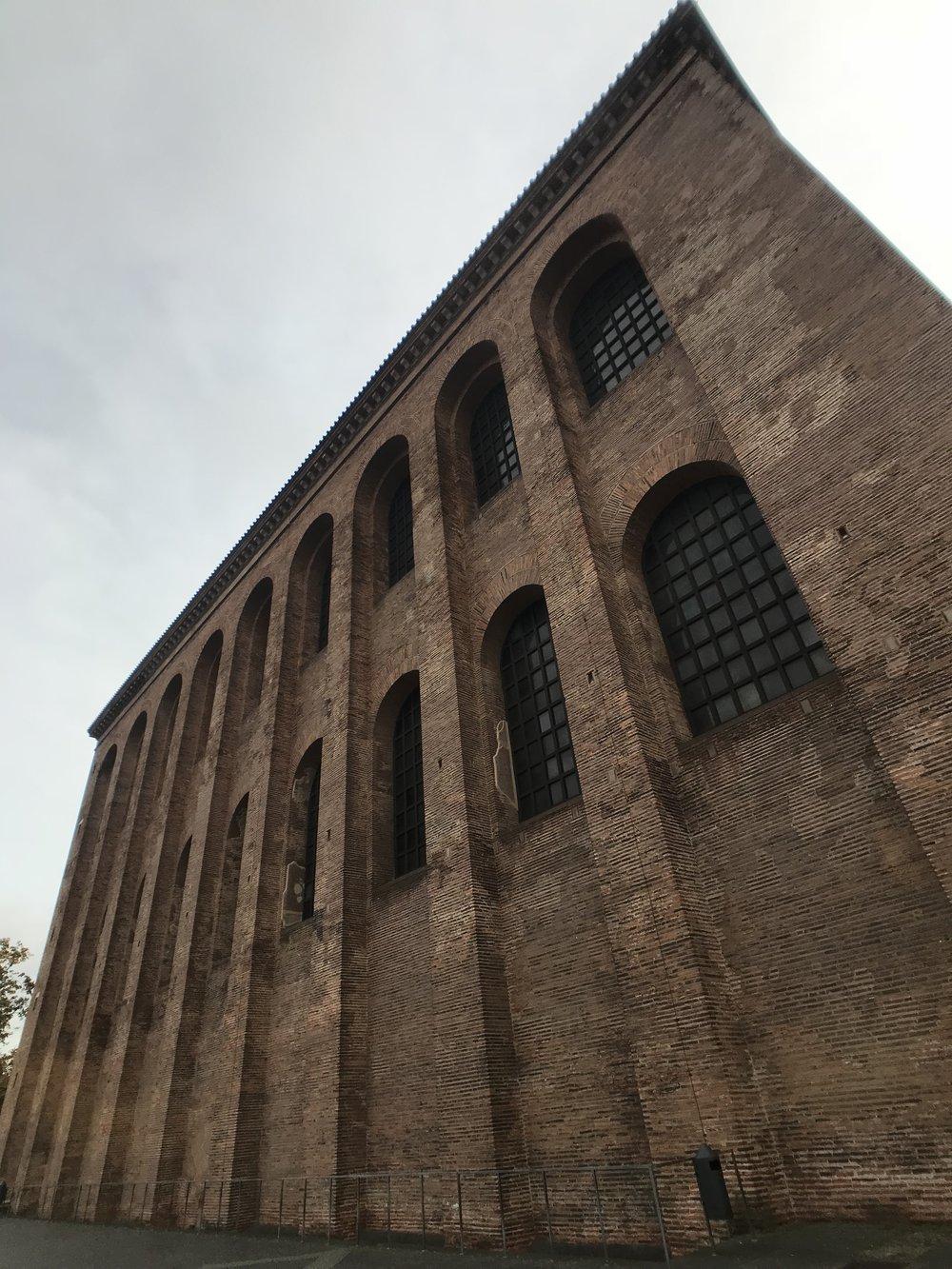 Die römische Basilika