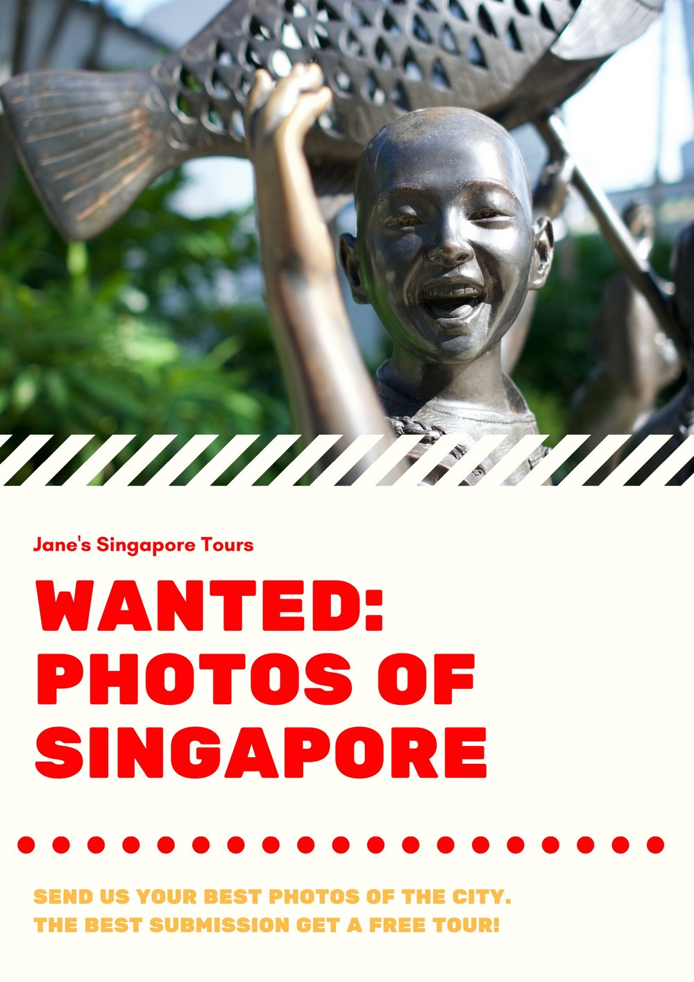 Wanted Photos of Singapore