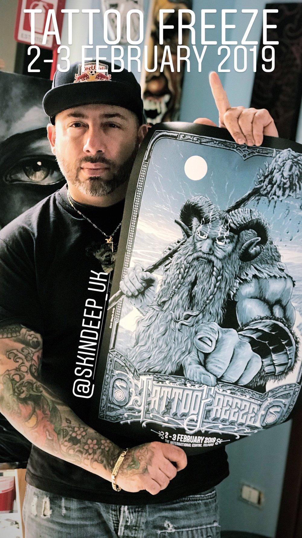 Junior Perez, Junior Tattoo
