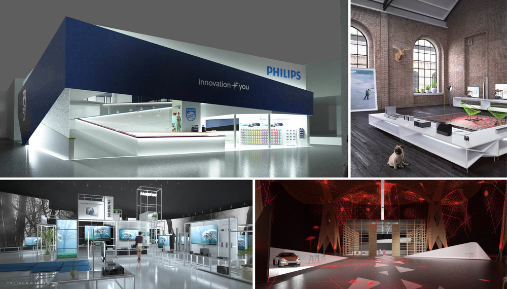 Philips, Vodafone, Samsung