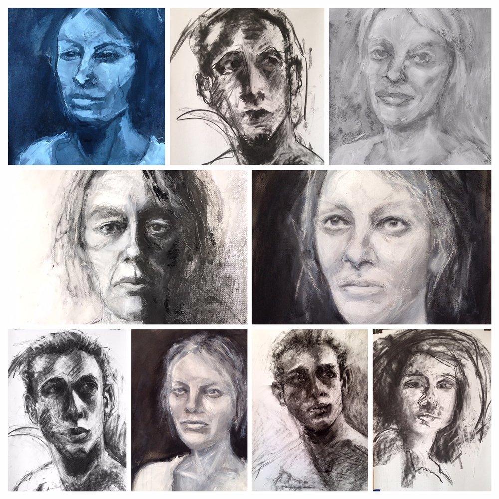 Portrait collection - Michele Owen 2017