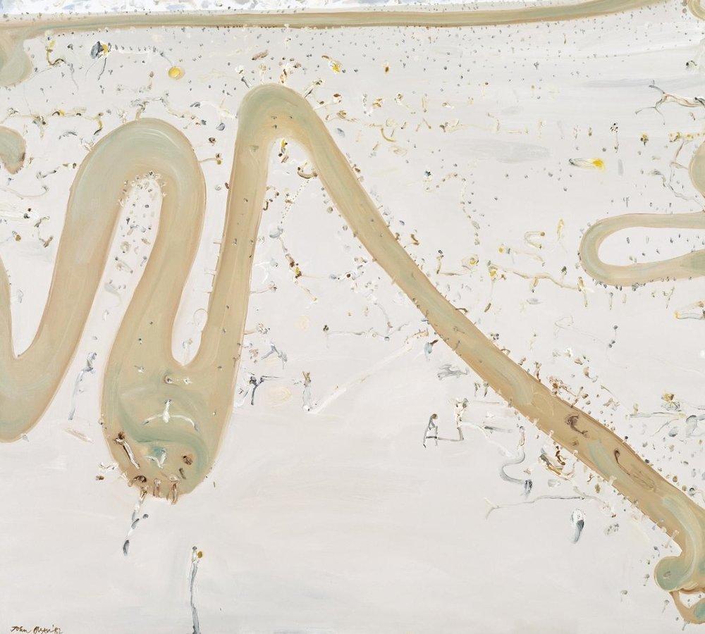 River passing through a plain 1982, John Olsen, National Gallery of Victoria