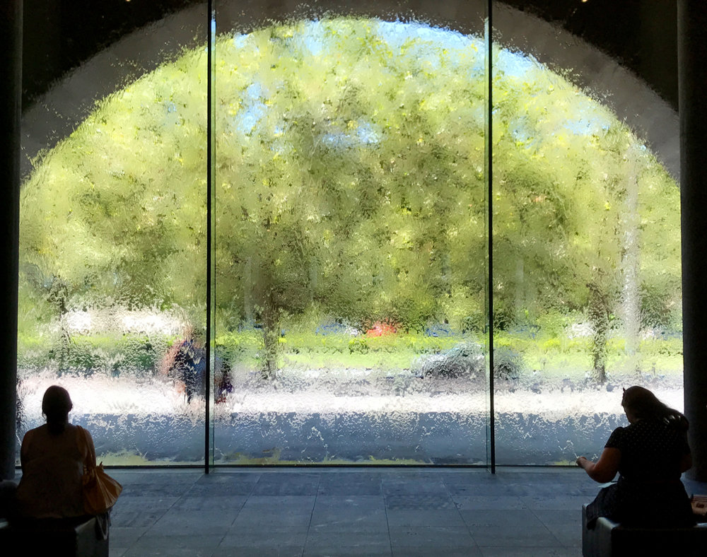 NGV's waterfall window
