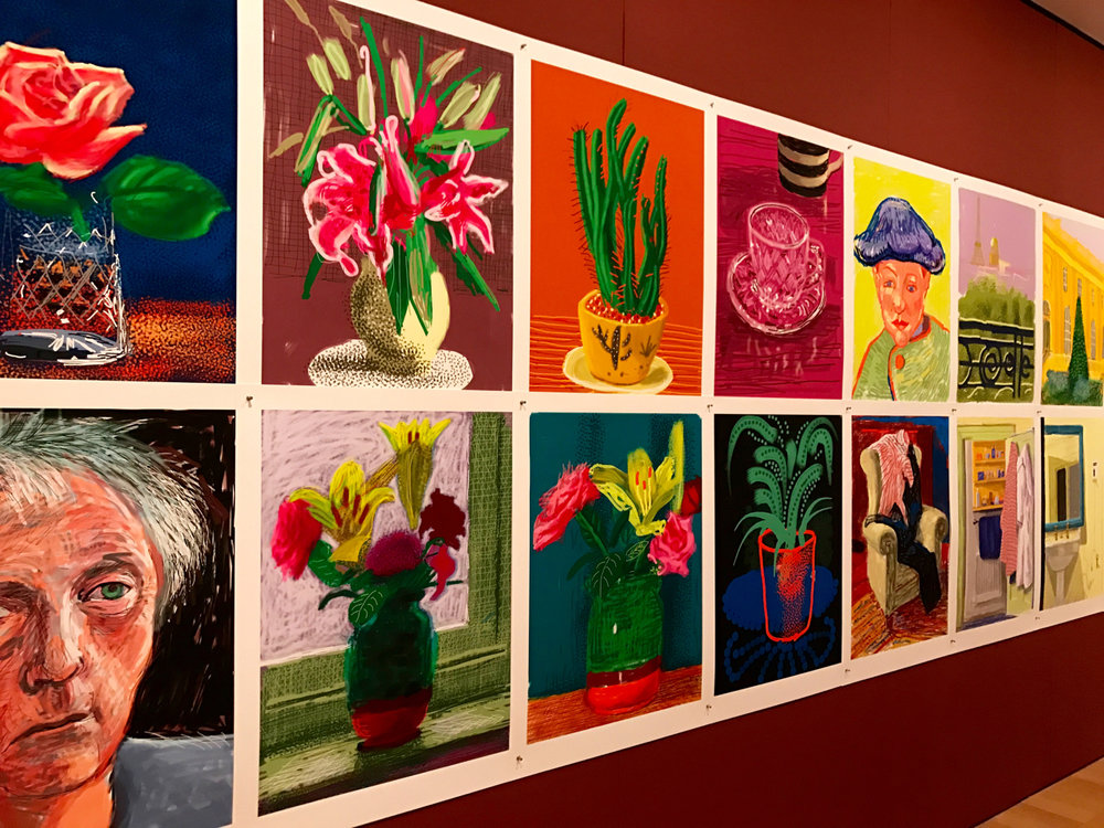 A treasury of Hockney's iPad and iPhone art