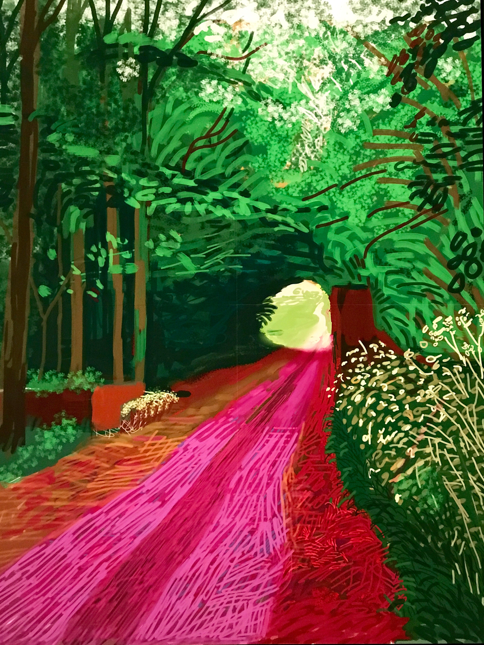 David-Hockney-the-arrival-of-spring