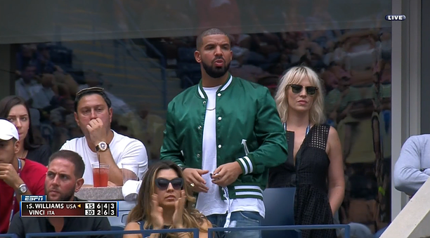 (Drake after ruining Serena's chances by thirsting after her)