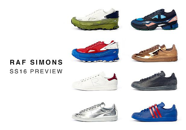 buy popular 17a92 2483d The Raf Simons Spring Summer 2016 sneaker lineup broke the internet with  social media buzz when first previewed in early June of this year.