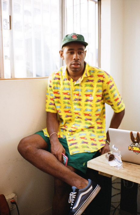 (Tyler the Creator shot by Kevin Moon)