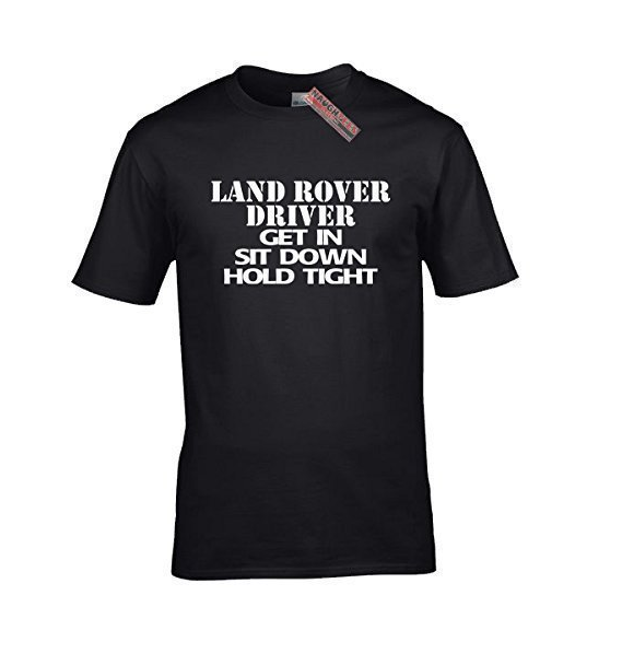 LAND ROVER DRIVER T SHIRT
