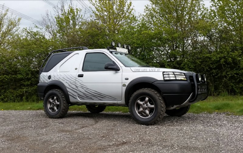 Name John Aulton. Vehicle Model Freelander & MLROTY ENTRY: John Aultons LAND ROVER Freelander u2014 LRO