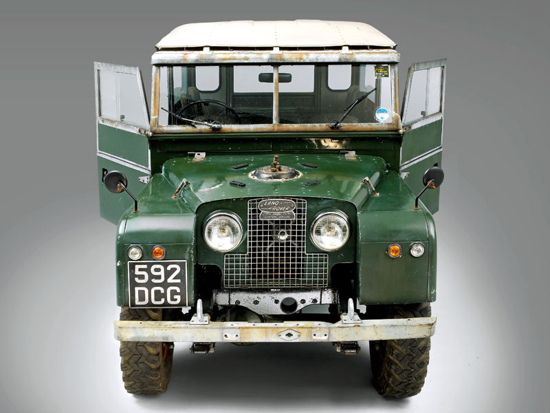 1948 58 Land Rover Series I 4x4 Review Lro