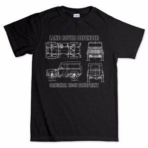 Defender 90 110 Blueprint T-shirt