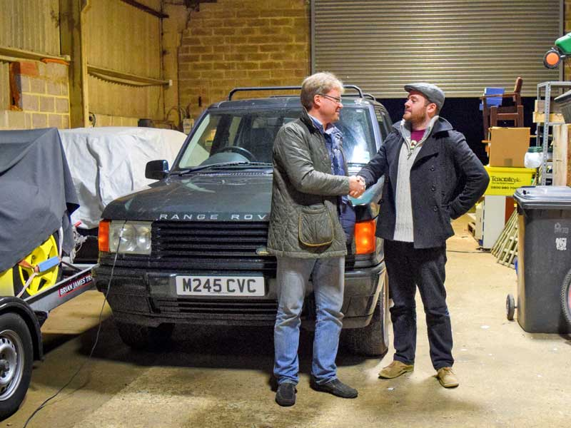 Simon Lake is glad the CVC has found a good home. How long before Calum is a broken man?