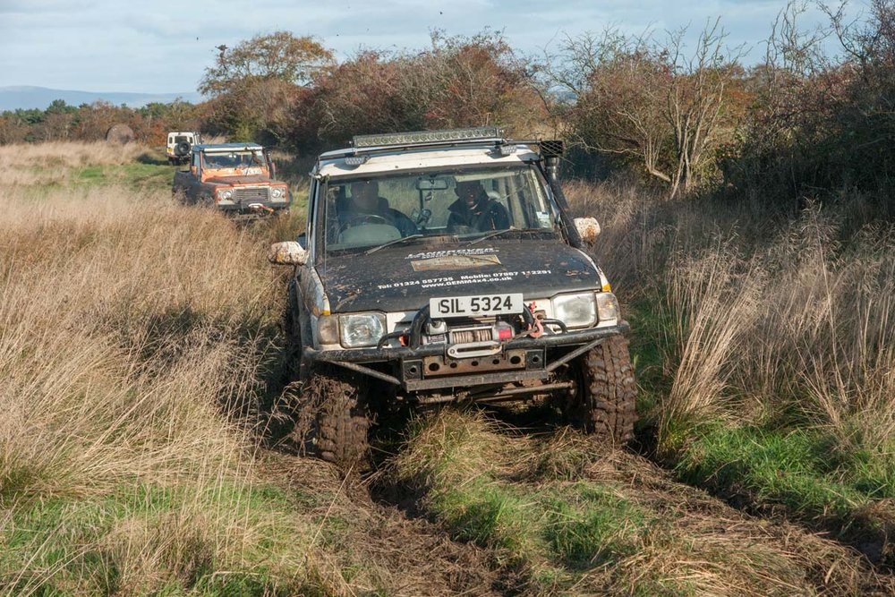 Gemm 4x4 's George McLay conquers a soft section