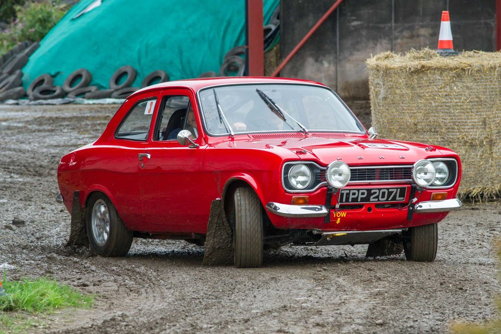 Matt Warren/Andy Pullan, Ford Escort