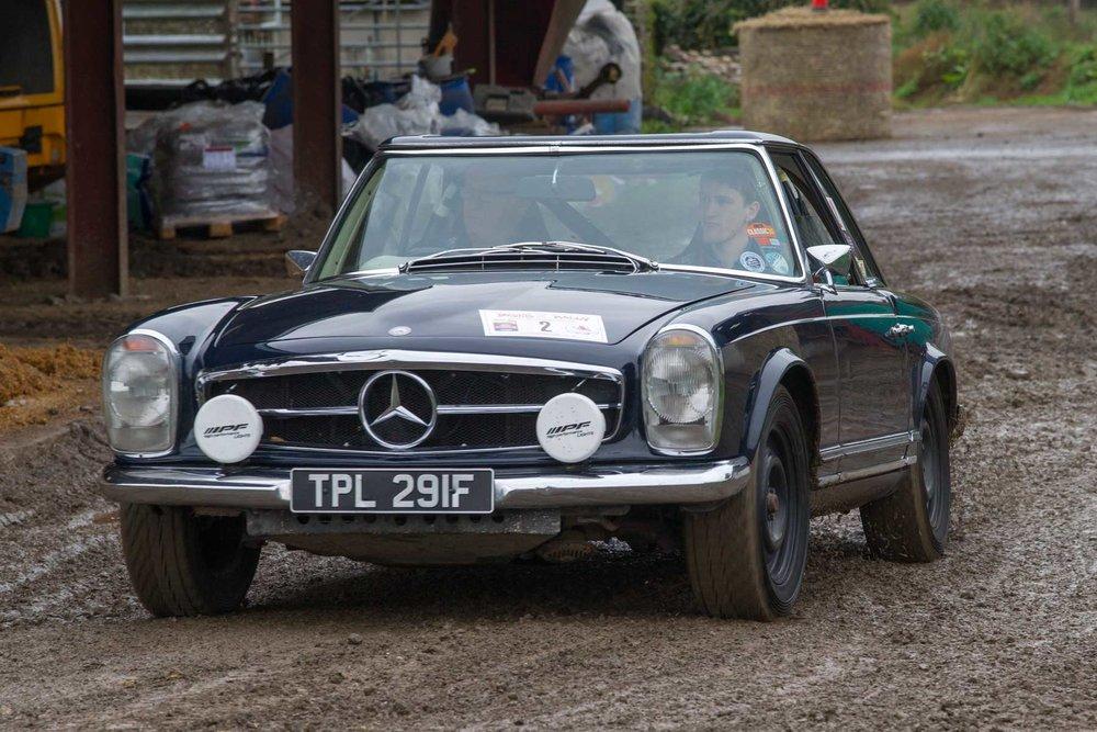 Ian Crammond/Matthew Vokes, 1968 Mercedes-Benz 280SL