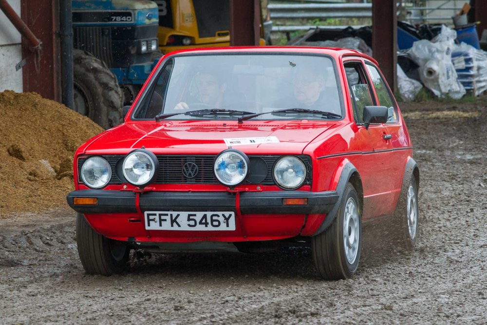 Thomas & Roger Bricknell, 1983 VW Golf GTi