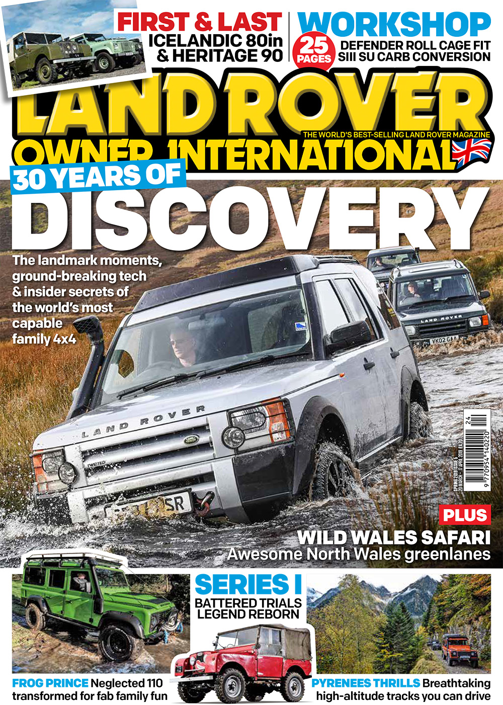 Land Rover Owner magazine Spring 2019 cover