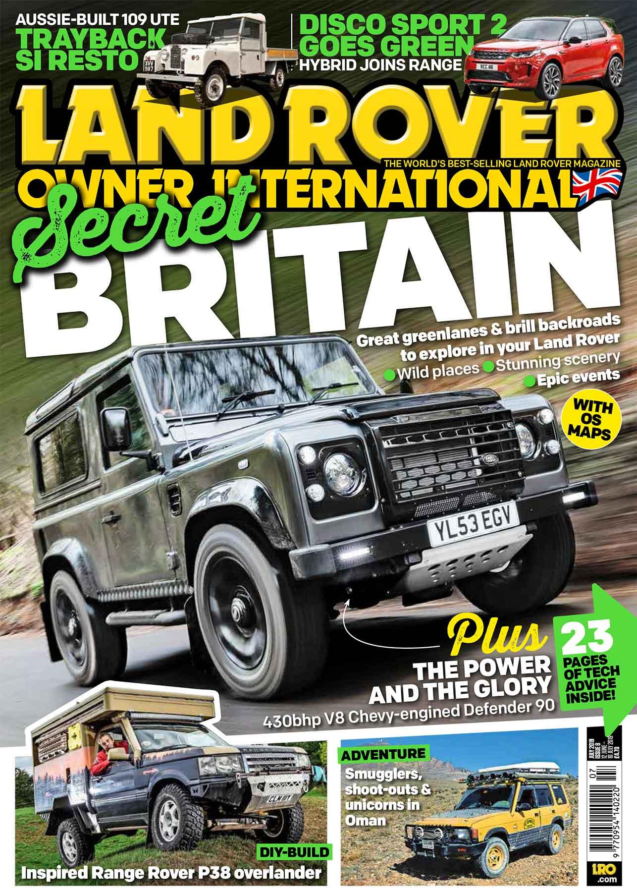 Land Rover Owner International magazine July 2019 — LRO