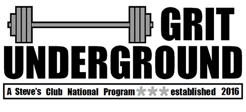 GRIT Underground a Steve's Club National Program, established in 2016