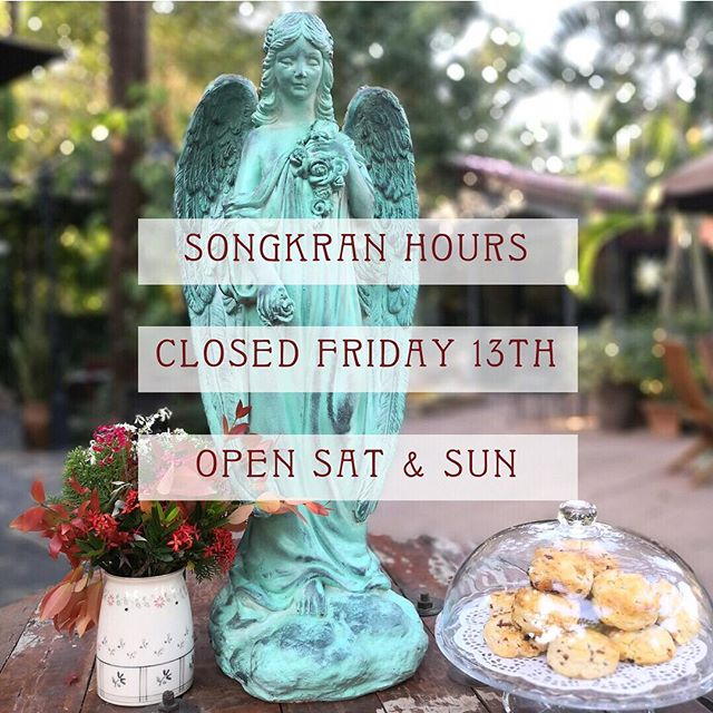 Dear friends, we've decided to take Friday off for our staff to enjoy the New Years however we will be open SAT & SUN this weekend! Guaranteed splash free safe zone in our garden - come and enjoy your favorite quiche or mango smoothie ✌🏽