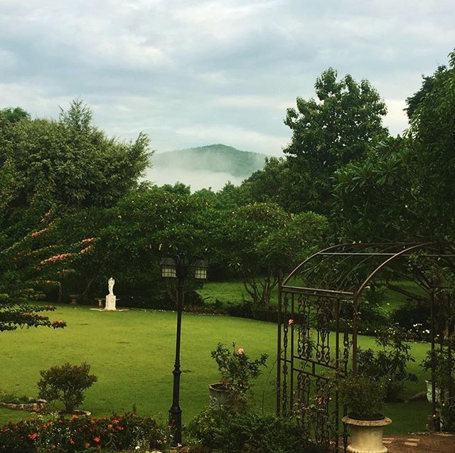 regram from our guest @katezaya thank you for choosing this view to wake up to 🍃
