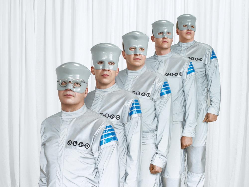 DEVO - Something For Everybody Album Launch