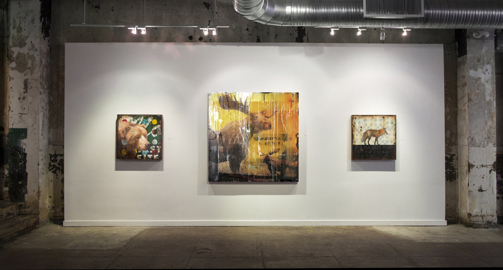 Mike Weber Exhibition in the US