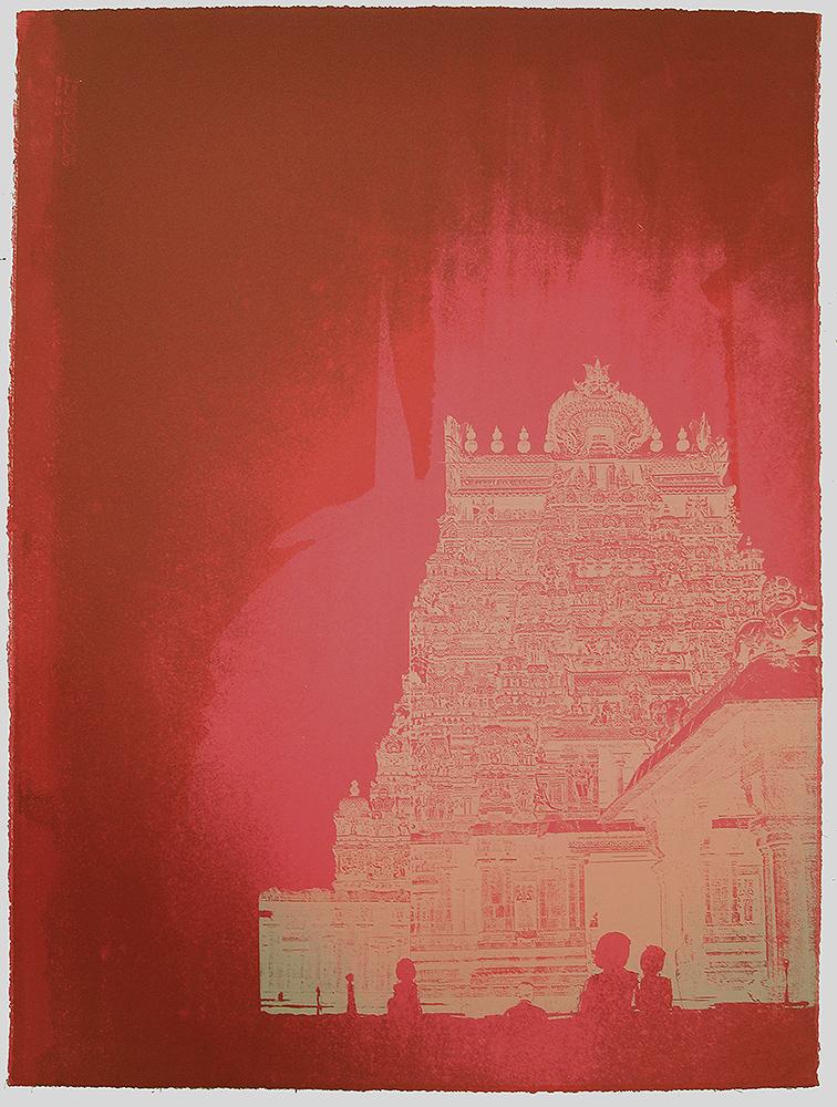 Garbhagriha II by Chitra Merchant