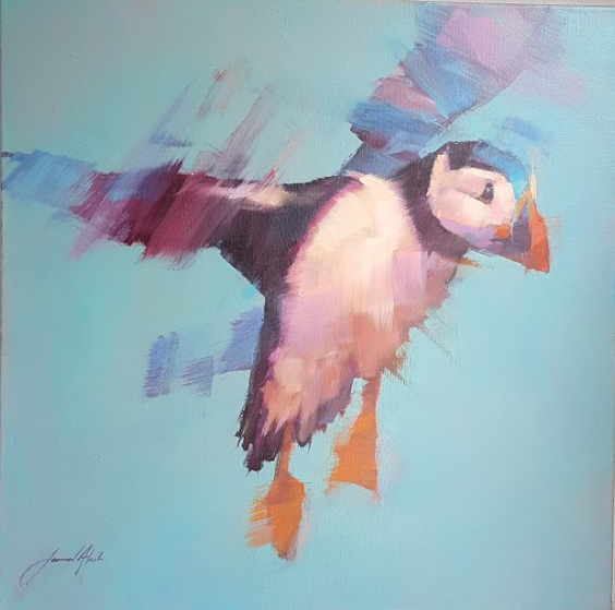 Puffin by Jamel Akib