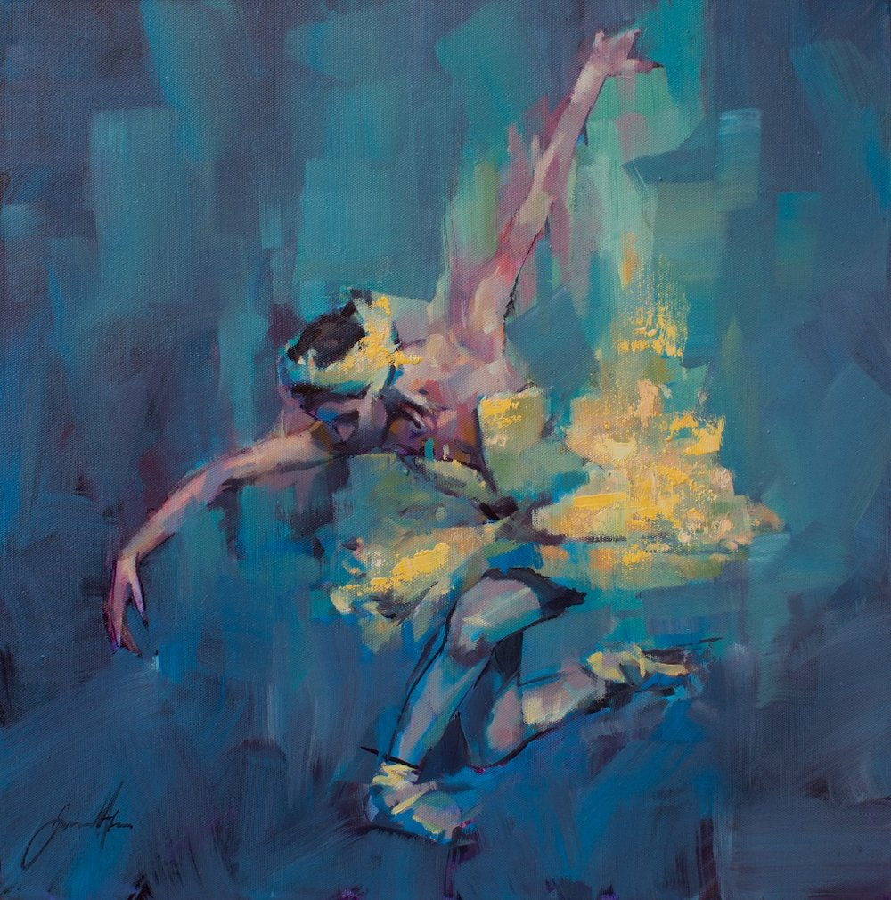 Ballerina by Jamel Akib