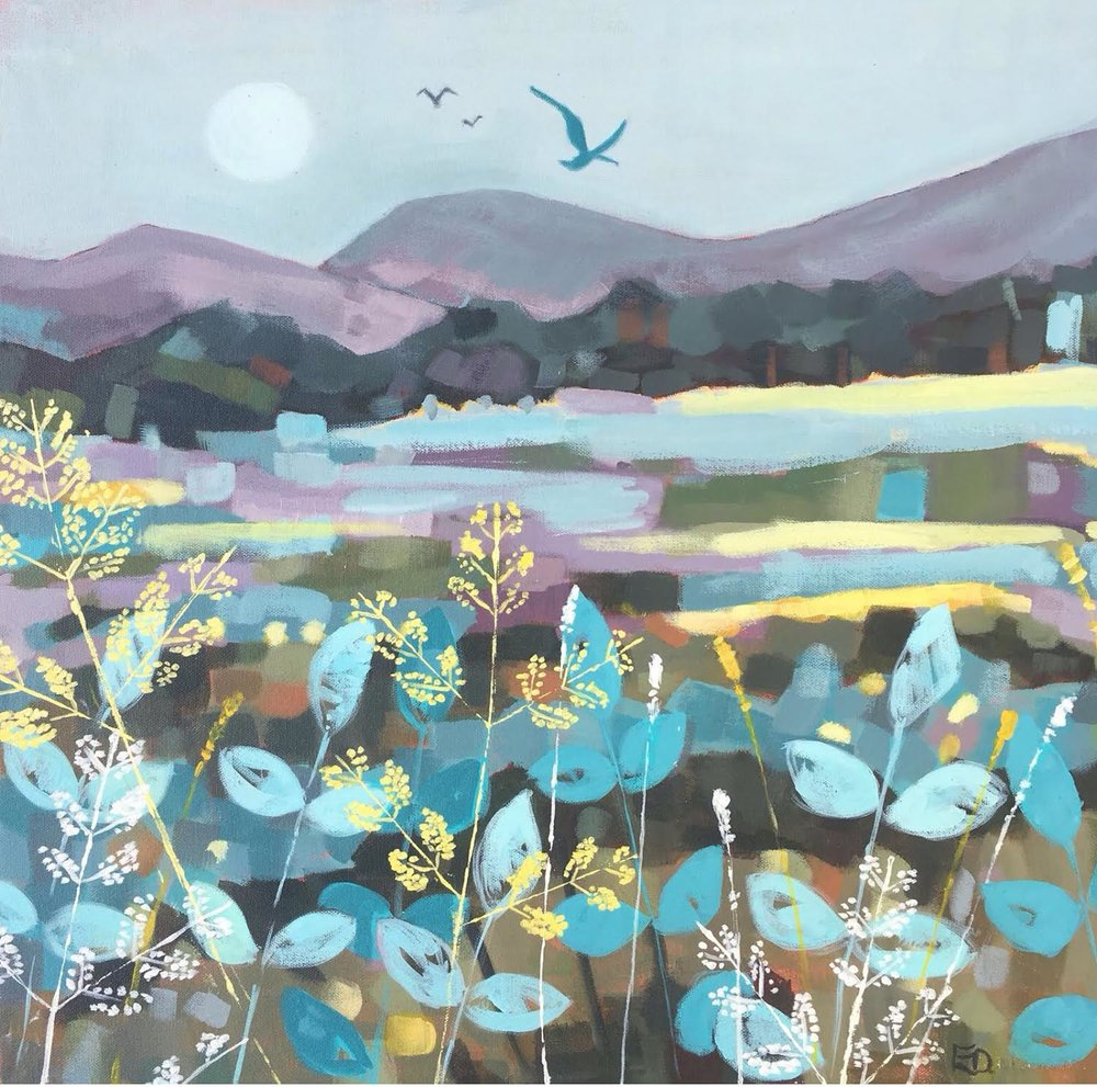 Blue Meadow by Emma Dashwood