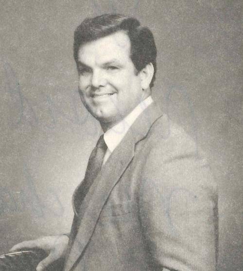 Pastor Mark in 1989.