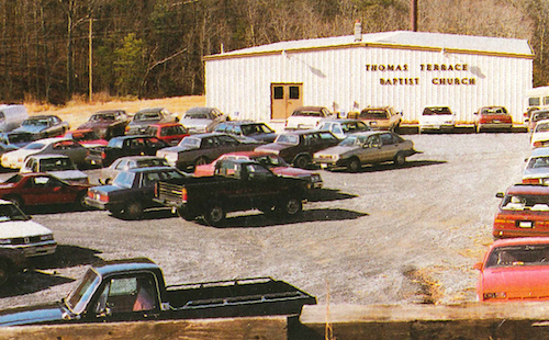 Our facility on Oxford Furnace Hill in the early 90s.