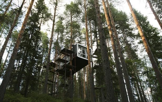 Treehotel, Harads, Sweden (Matt Cowan/Reuters)