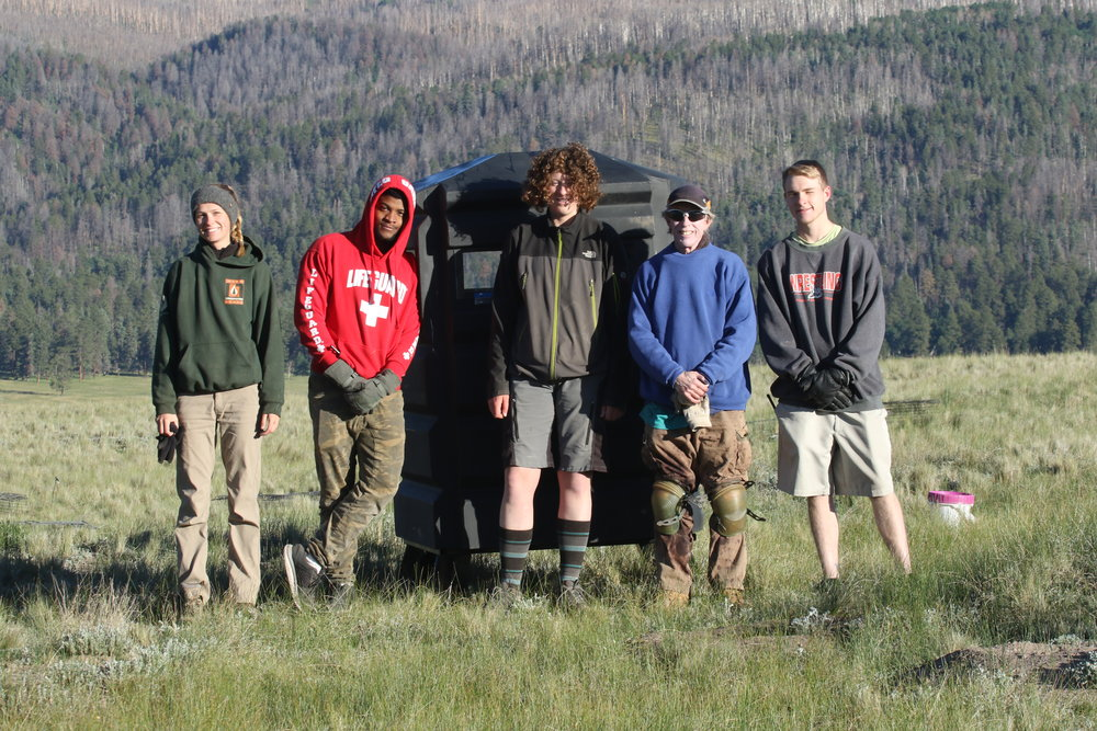 The Prairie Dog Squad - field assistants