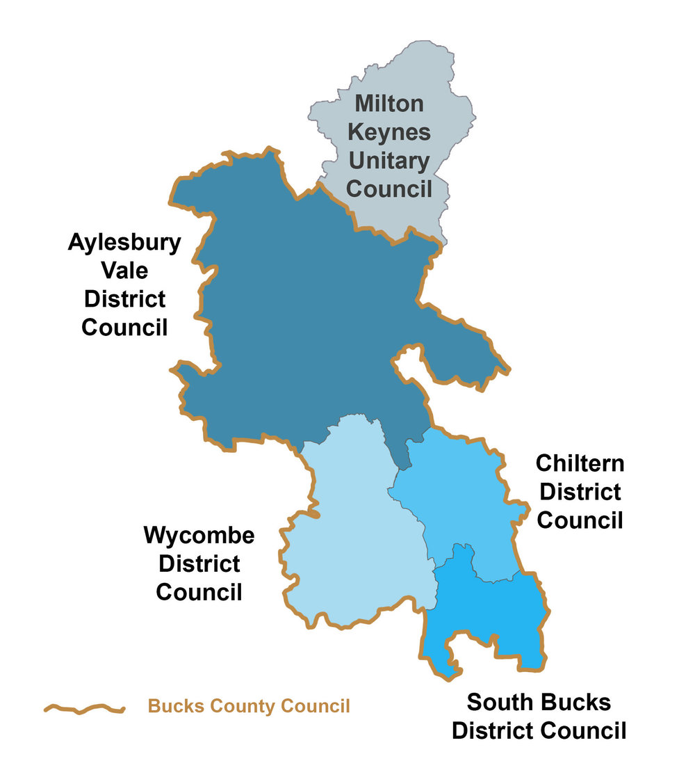 Current council areas