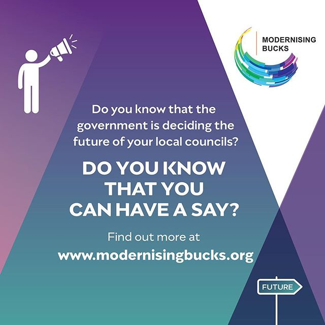 Have your say #modernisingbucks #local #unitary #unitaries #sajidjavidmp