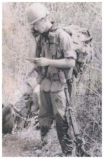 RCHS Volunteer John Kelly, Vietnam, 1969.